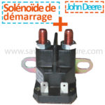 Solenoide tracteur tondeuse