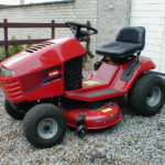 Tracteur tondeuse toro